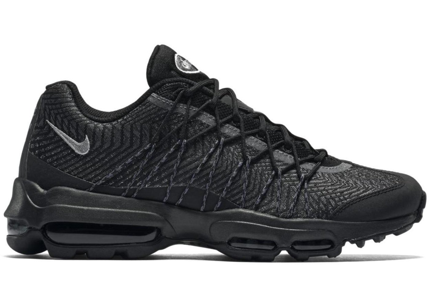 sports shoes d540f a4ee9 Air Max 95 Jacquard Black Silver - 749771-001