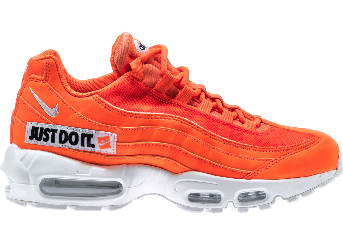 reputable site 1458b afe35 HypeAnalyzer · Air Max 95 Just Do It Pack Orange