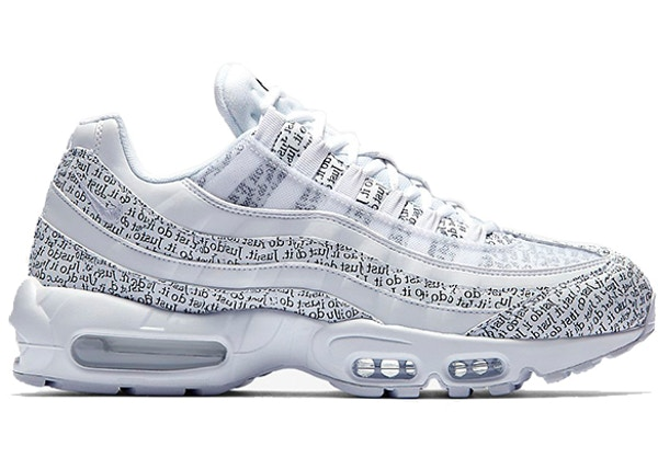 buy popular 0b997 cc3bf Air Max 95 Just Do It Pack White