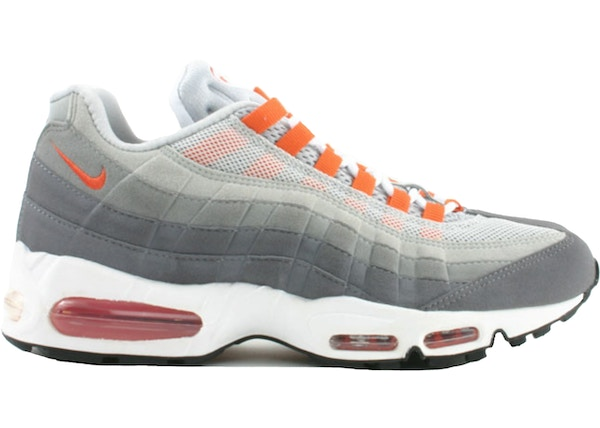d48eb24b2aa2 Air Max 95 Light Graphite Orange - 609048-081