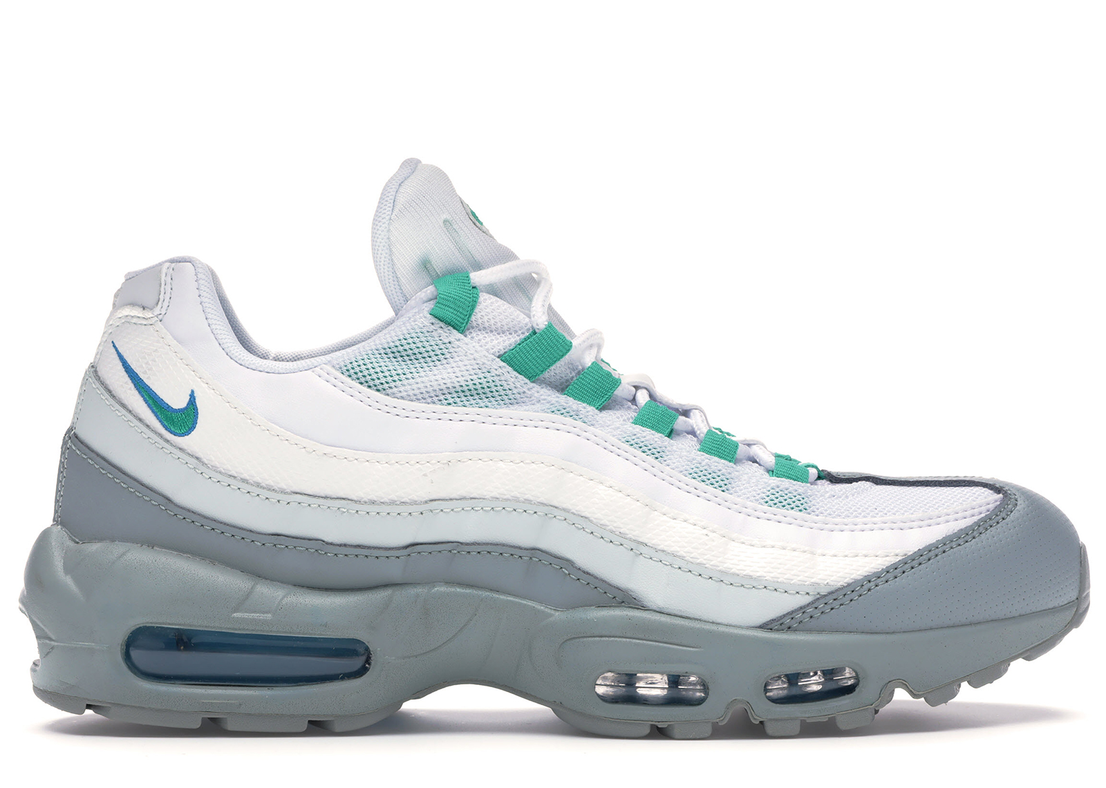 Air Max 95 Light Pumice Clear Emerald