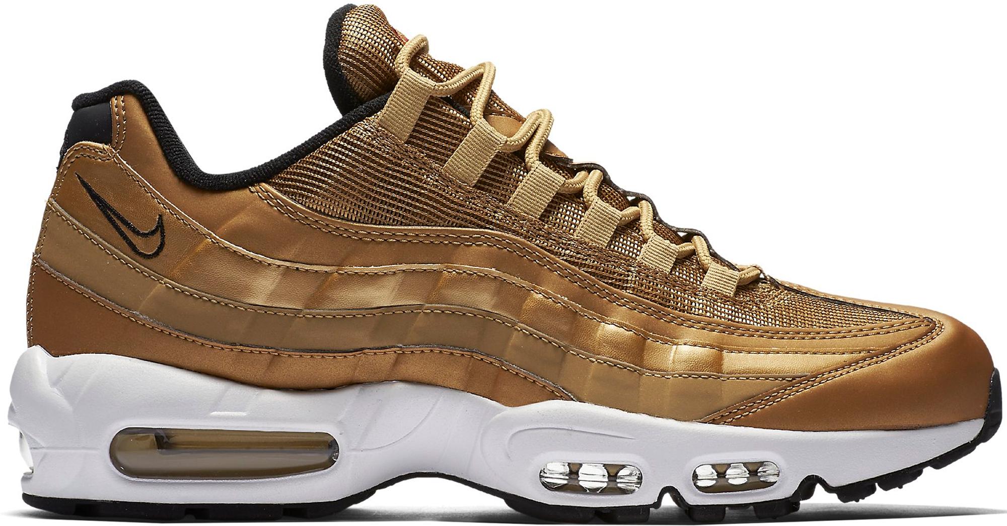 Air Max 95 Metallic Gold