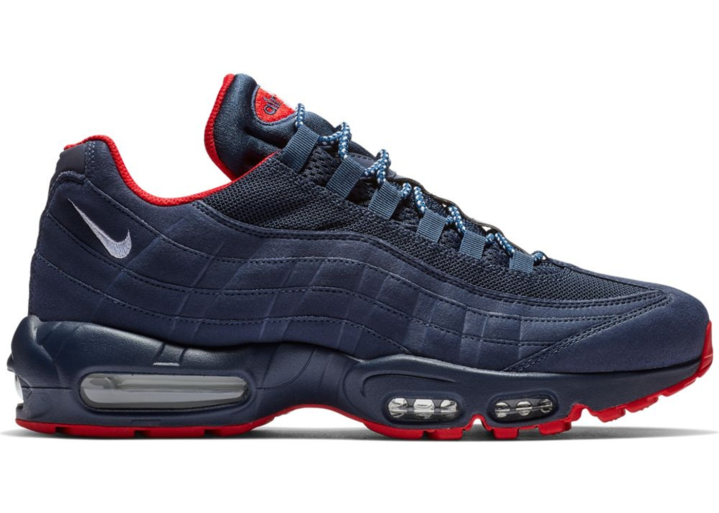 brand new 7843f 5da3b Air Max 95 Midnight Navy University Red - BV1255-400