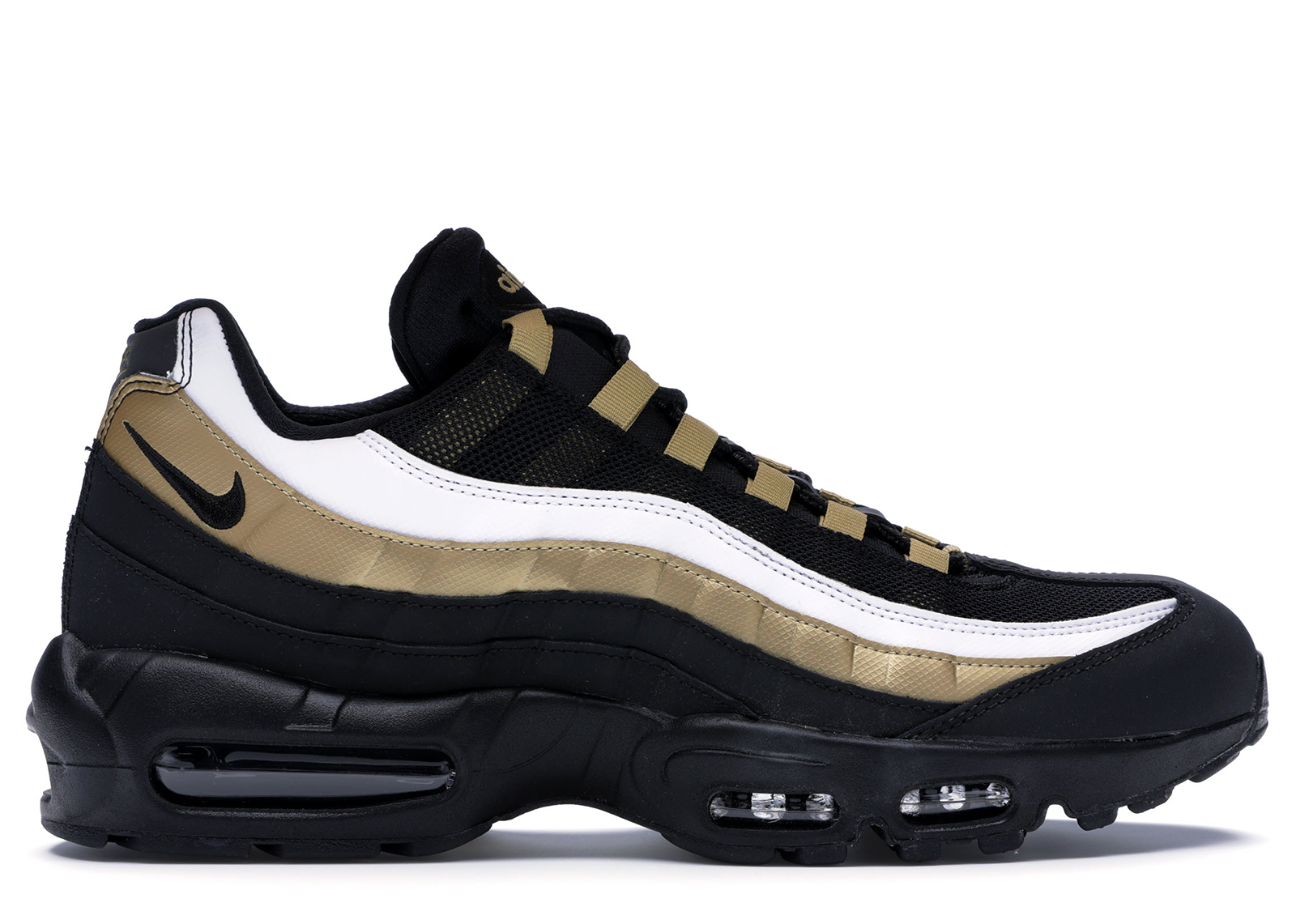 air max 95 noir et or