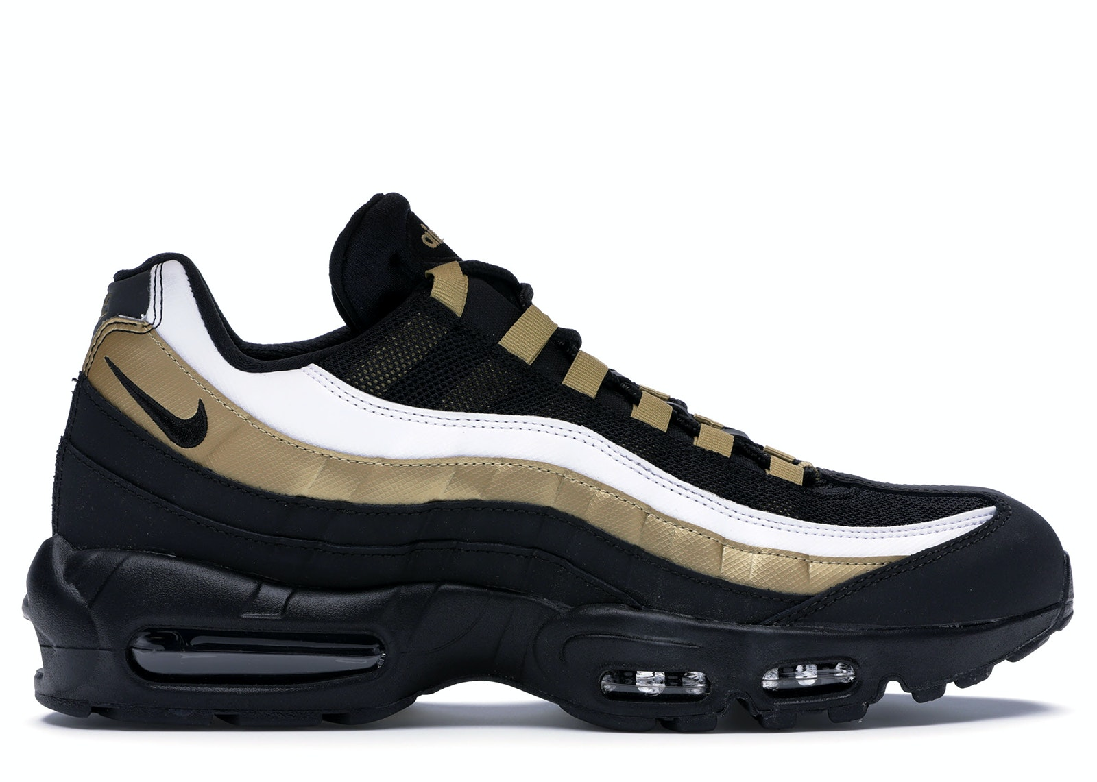 Air Max 95 OG Black Metallic Gold White