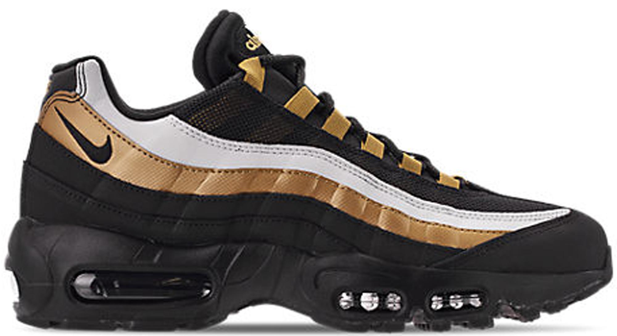 f0e4976cea ... order air max 95 og black metallic gold white 5c2cd 0a168