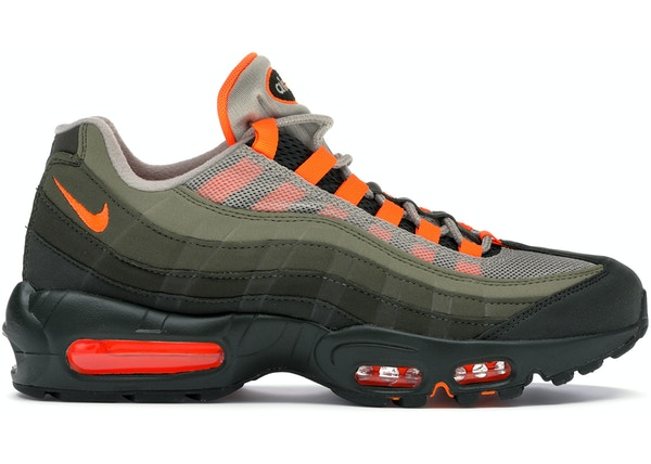 hot sale online 68cbe 86385 Air Max 95 OG Neutral Olive Total Orange