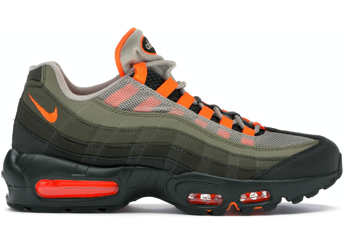 wholesale dealer 2255a d8d6c Air Max 95 OG Neutral Olive Total Orange - AT2865-200