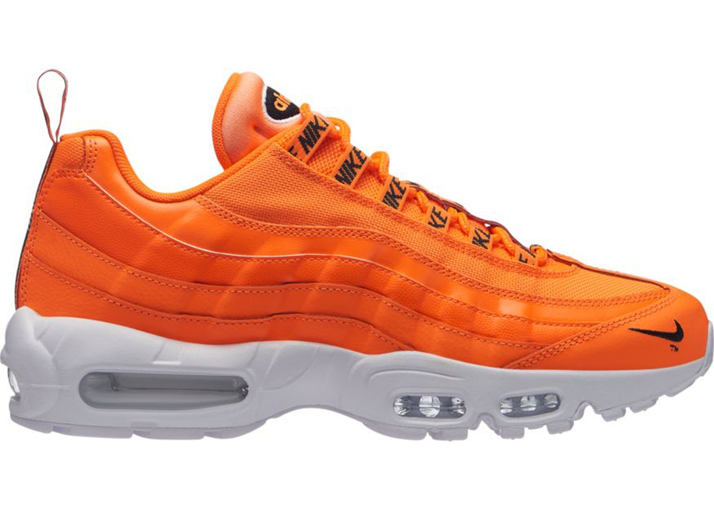 0bb89d1c01cea Sell. or Ask. Size: 12. View All Bids. Air Max 95 Overbranding Total Orange