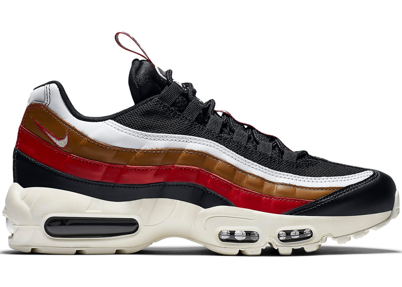 sale retailer ee5a3 0ce1e Air Max 95 Pull Tab Black Brown