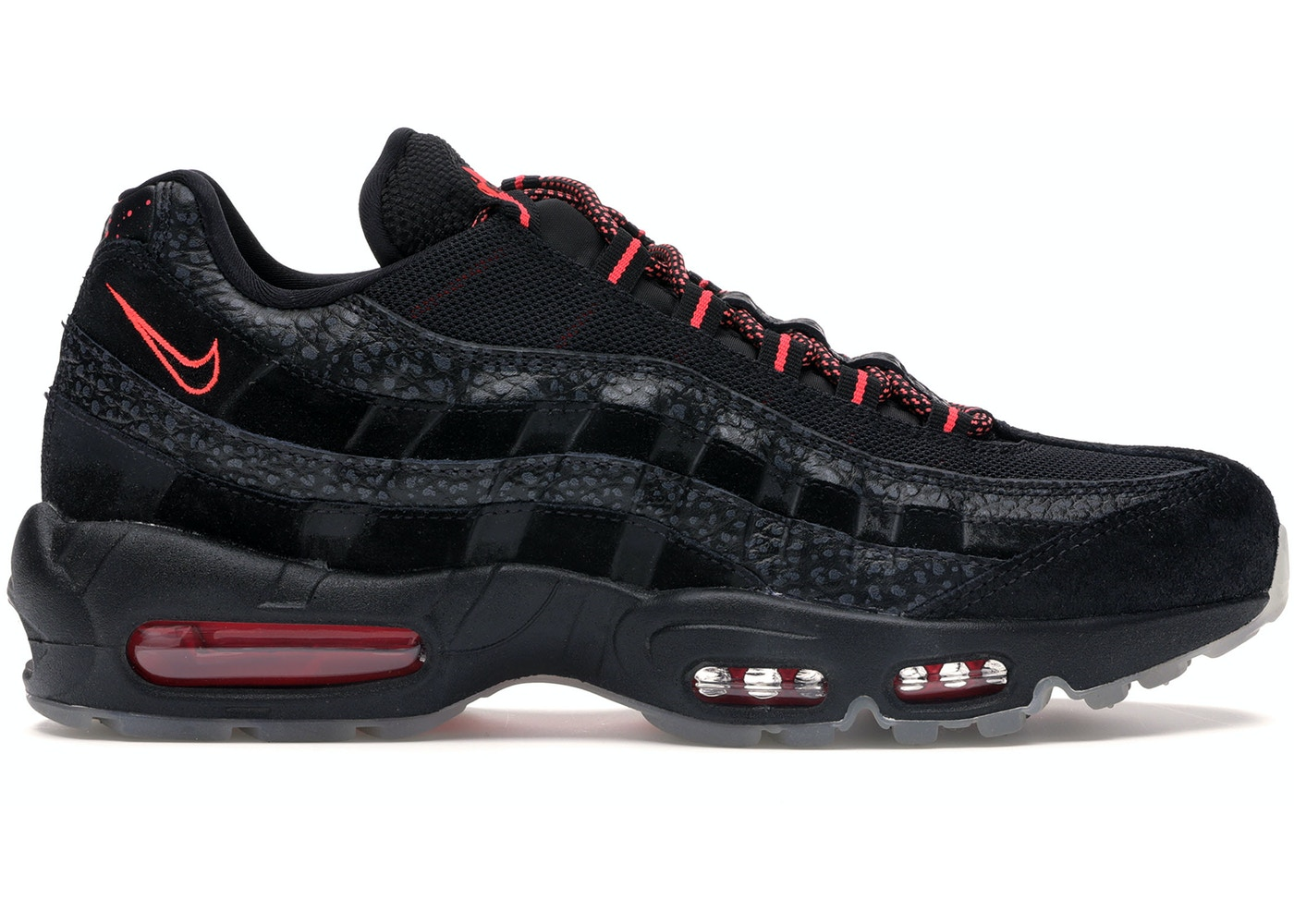 mieux aimé b7310 82ce2 Air Max 95 Safari Black Infrared