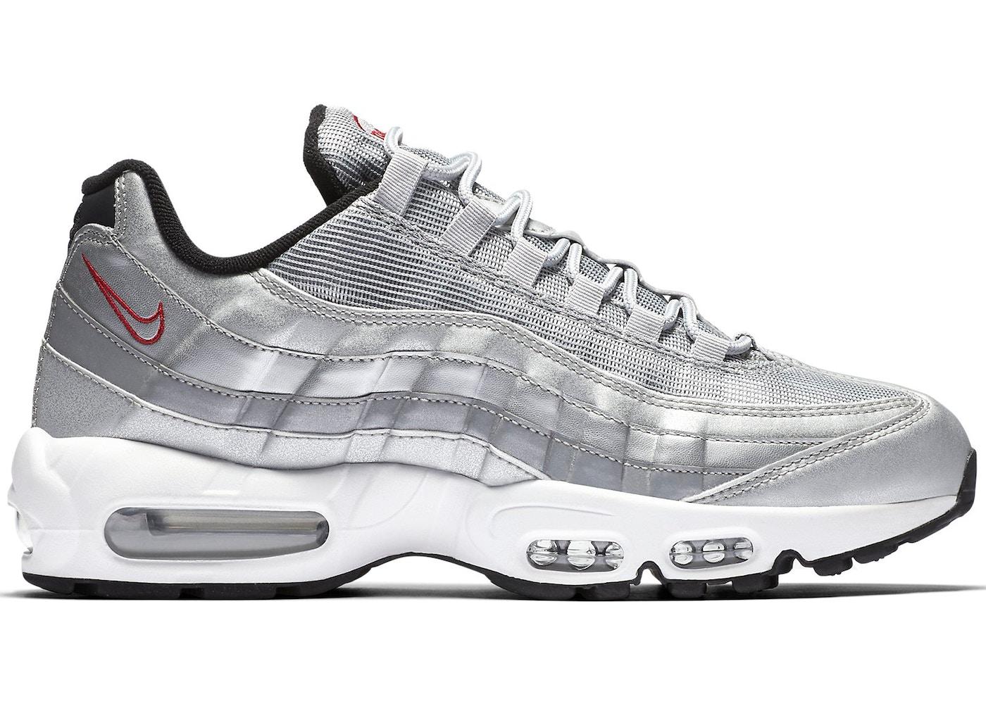 silver air max