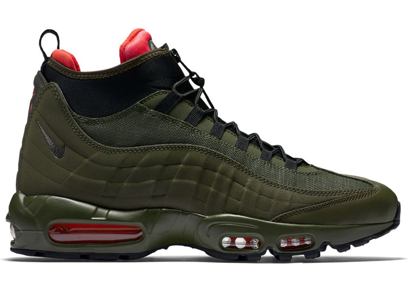 new arrival 3aa47 9ac3a Air Max 95 Sneakerboot Dark Loden
