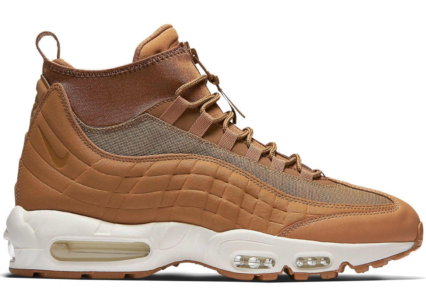 separation shoes af391 6ee88 Air Max 95 Sneakerboot Flax (2017)