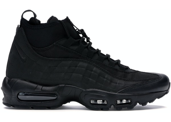 da97c824a70c Air Max 95 Sneakerboot Triple Black - 806809-002