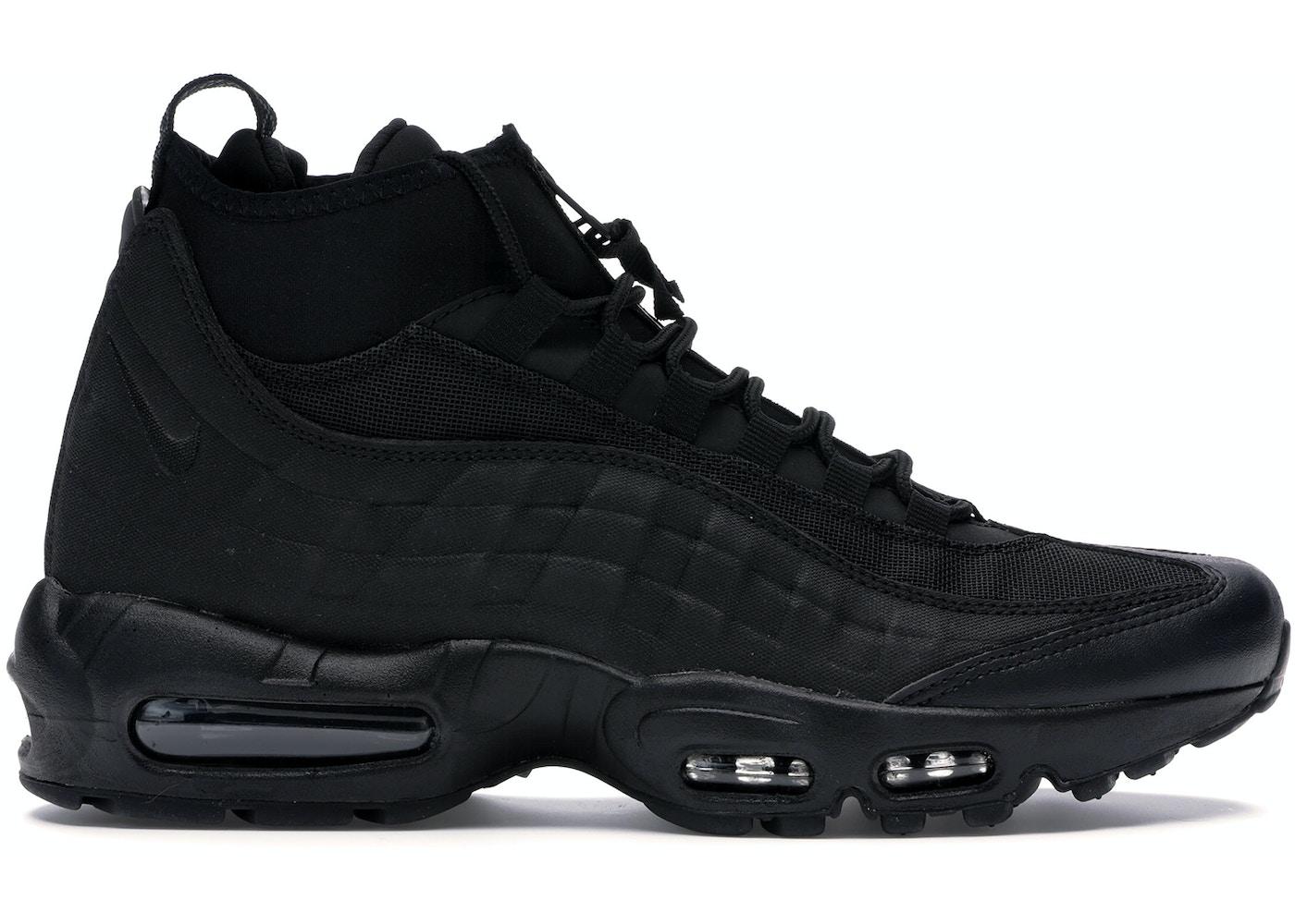 size 40 fbf3b ade19 Air Max 95 Sneakerboot Triple Black