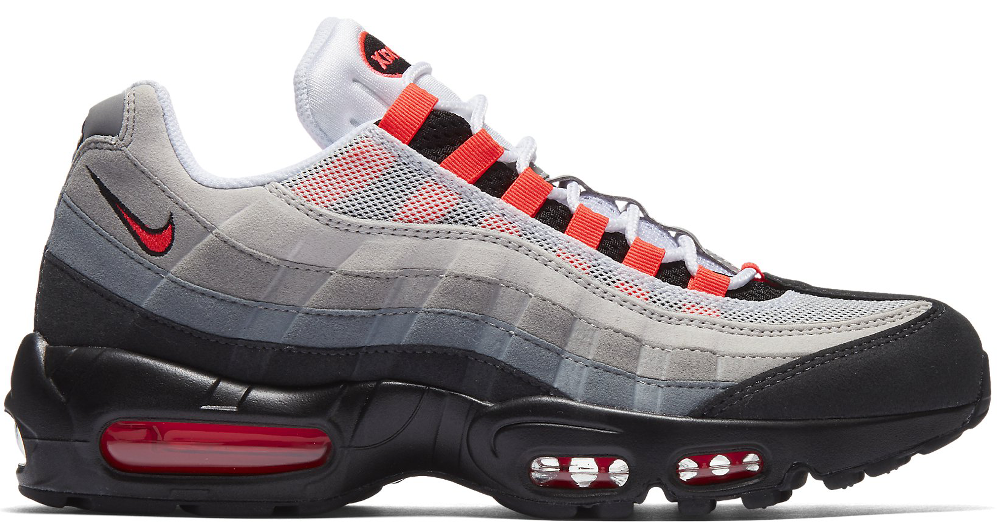 nike air max 95 solar red 2018 corvette