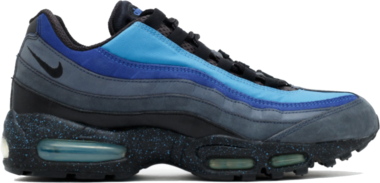 all blue air max 95