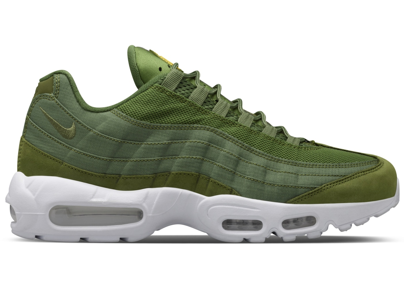 super cute 7237f dea53 Air Max 95 Stussy Olive
