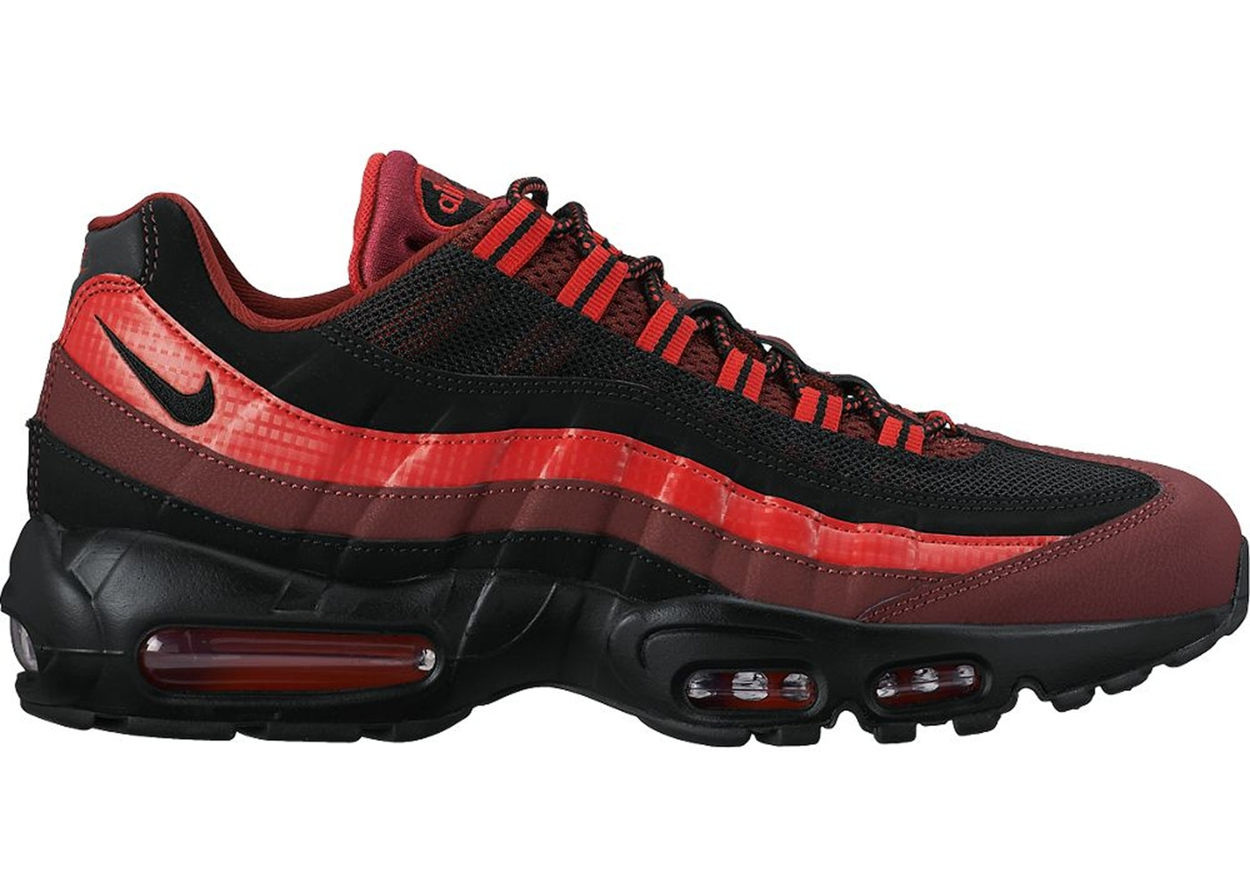 super popular 2b3cb 73be2 Air Max 95 Team Red Black Uni Red - 749766-600