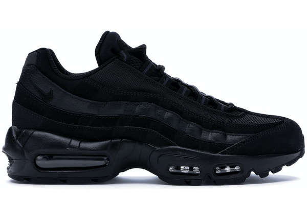 sports shoes 95c43 97d36 Air Max 95 Triple Black (2014/2016/2018) - 609048-092