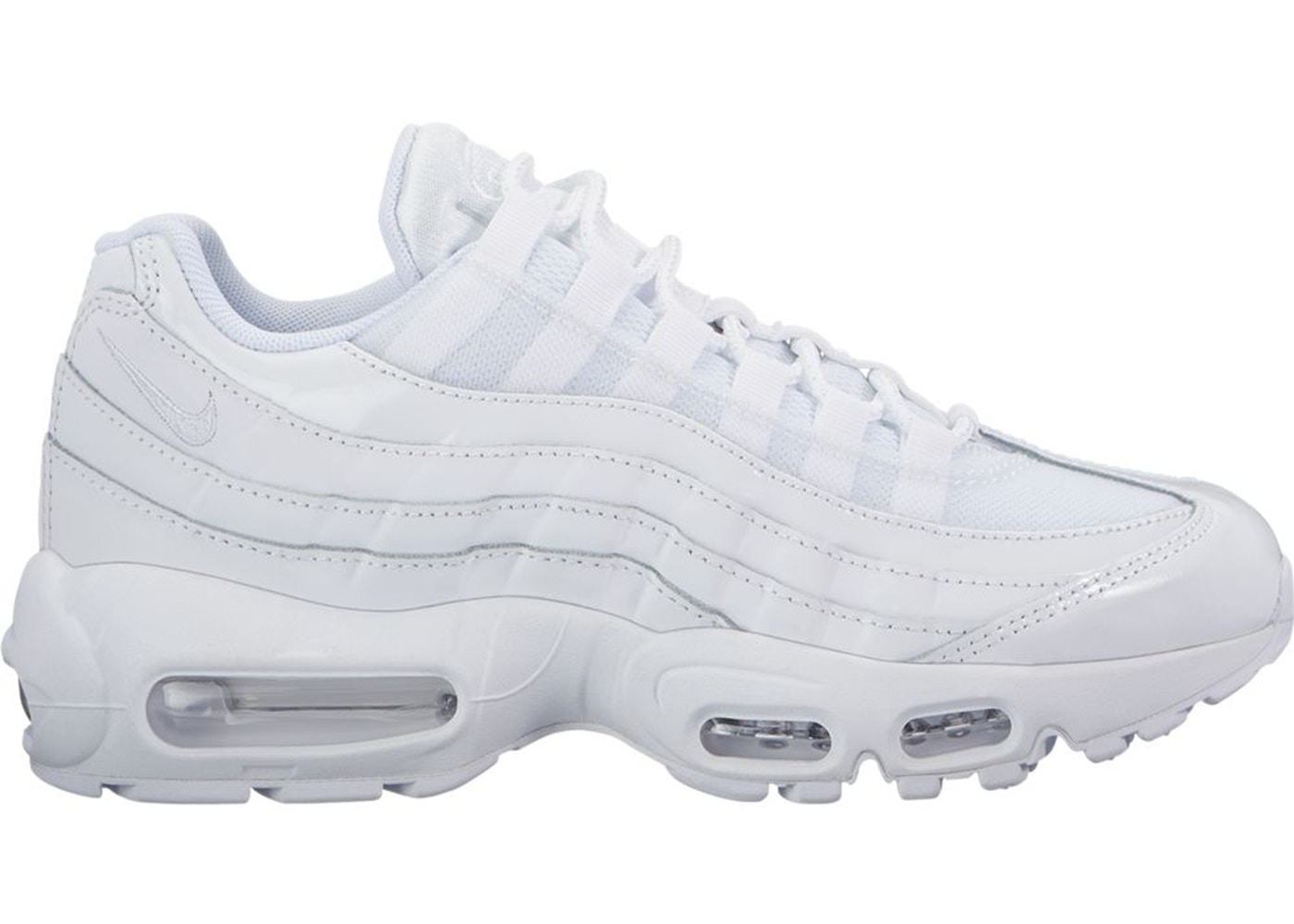 Air Max 95 Triple White (W)
