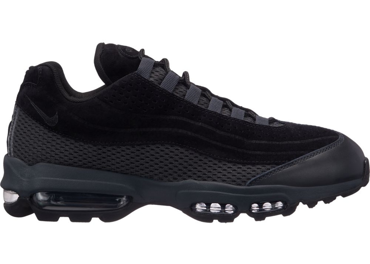Air Max 95 Ultra Premium Breathe Triple Black - AO2438-002