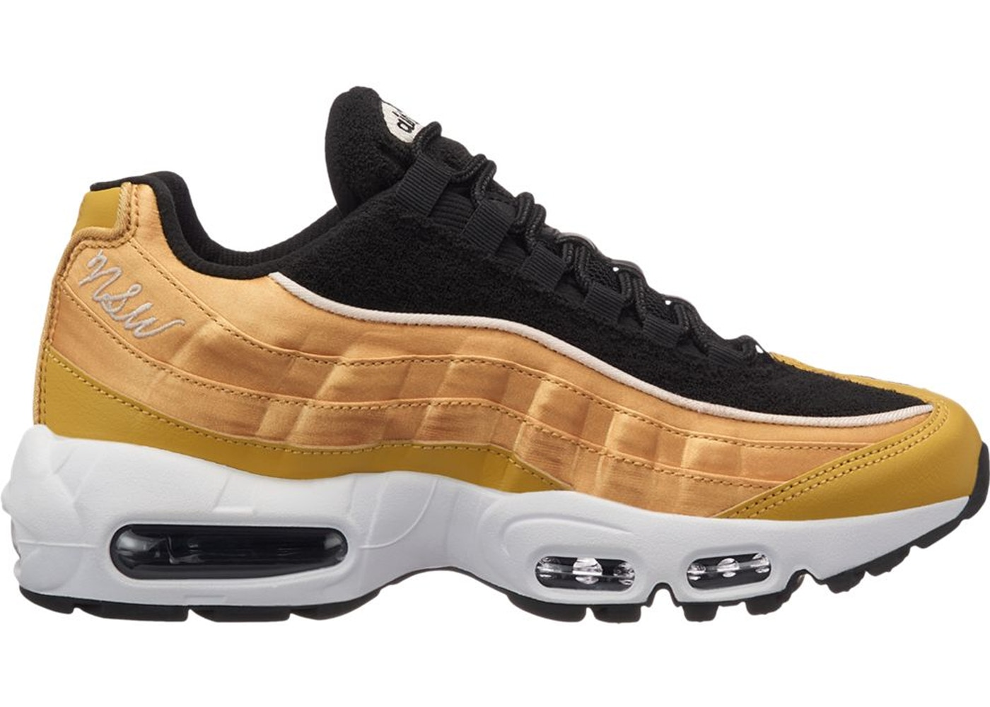 100% authentic 66cba 7fbc3 Sell. or Ask. Size  12W. View All Bids. Air Max 95 Wheat Gold Black ...