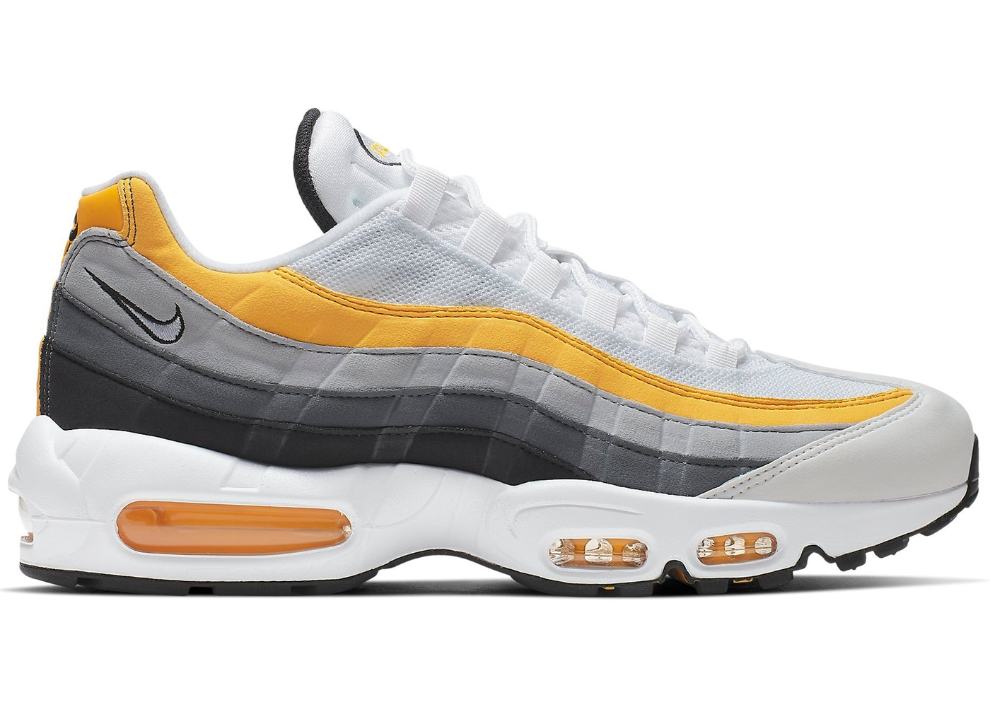 huge selection of 5d4be ede2e Air Max 95 White Amarillo Dark Grey