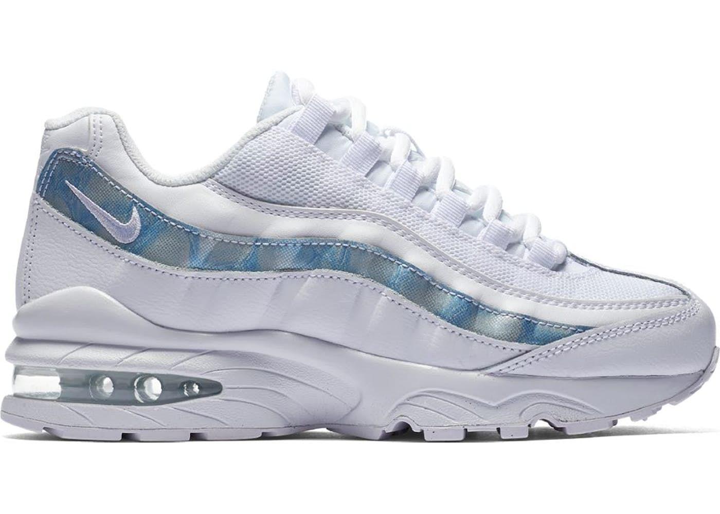 sports shoes 5d0c7 04762 Air Max 95 White Cobalt Pulse (GS)