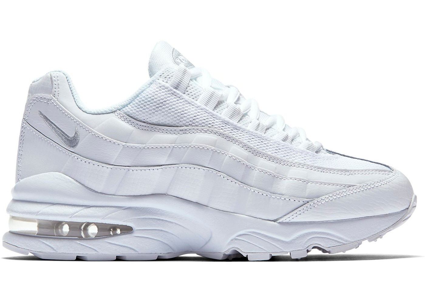 low priced 5e355 89b2c Air Max 95 White (GS)