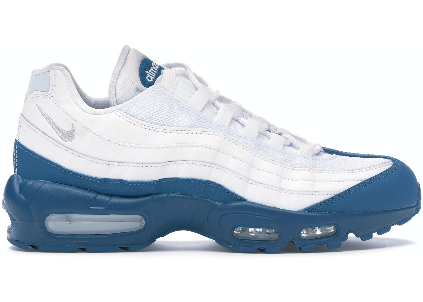 hot sale online 94e97 1cd59 Air Max 95 White Green Abyss