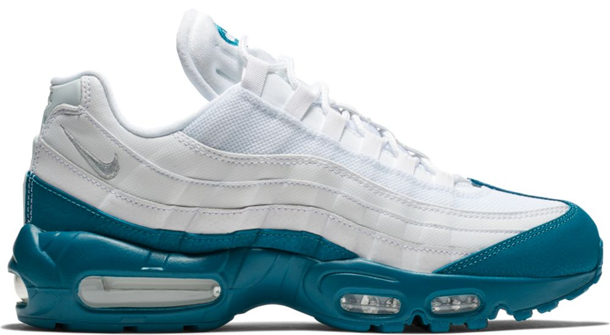 Air Max 95 White Green Abyss