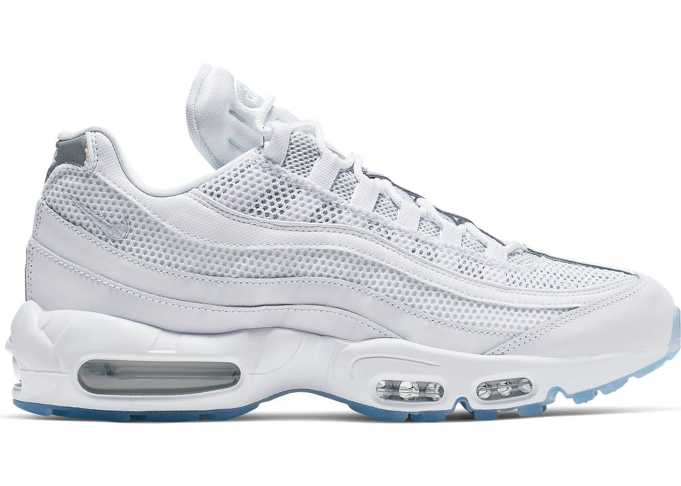 Nike NIKE Air Max 95 sneakers men gap Dis WMNS AIR MAX 95 PREMIUM white white 807,443 018 [194]