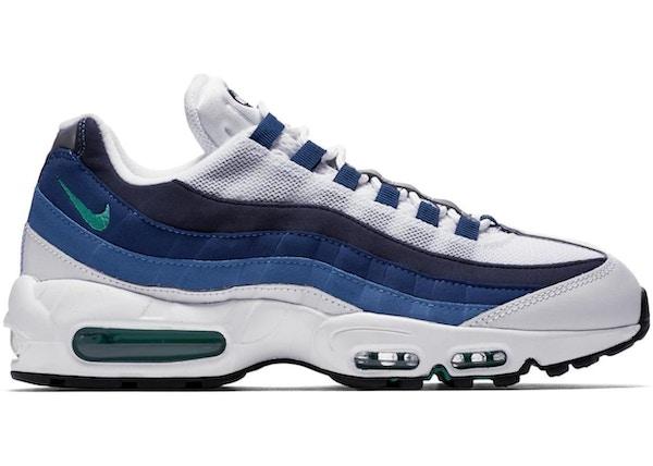 sports shoes 19d3e 90f07 Air Max 95 White Slate Blue - 554970-131