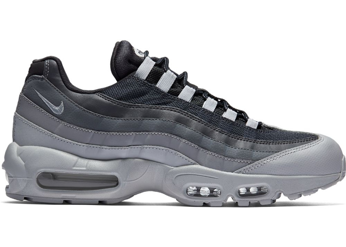 Nike Air Max 95 Essential Black Dark Grey Cool Grey White