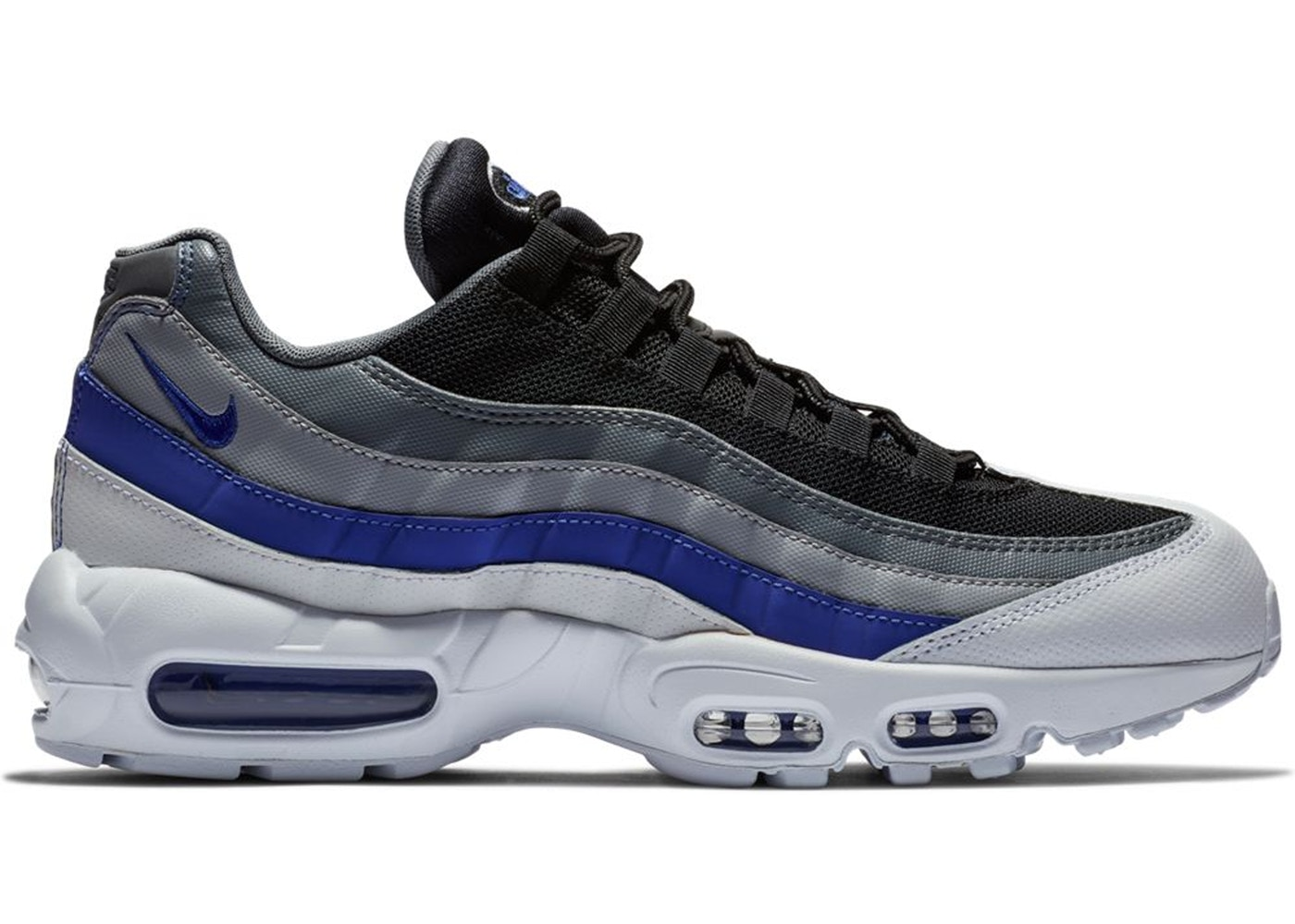 new product c4b1c acf6f Air Max 95 Wolf Grey Persian Violet - 749766-110