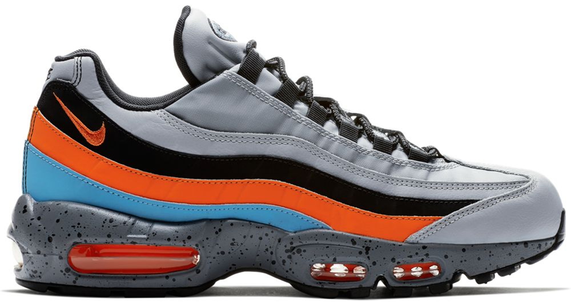 Air Max 95 Wolf Grey Safety Orange
