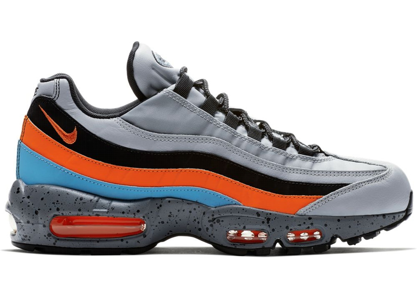 timeless design a7bf3 adf0e Air Max 95 Wolf Grey Safety Orange