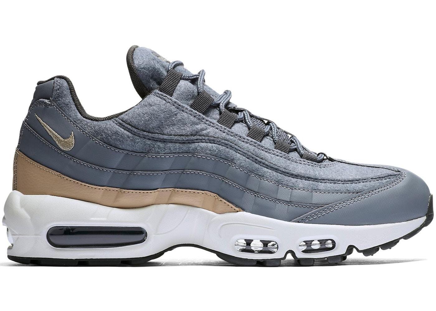 7818266a42881 ... Nike Air Max 95 Premium Wool; Air Max 95 Wool Cool Grey Mushroom ...