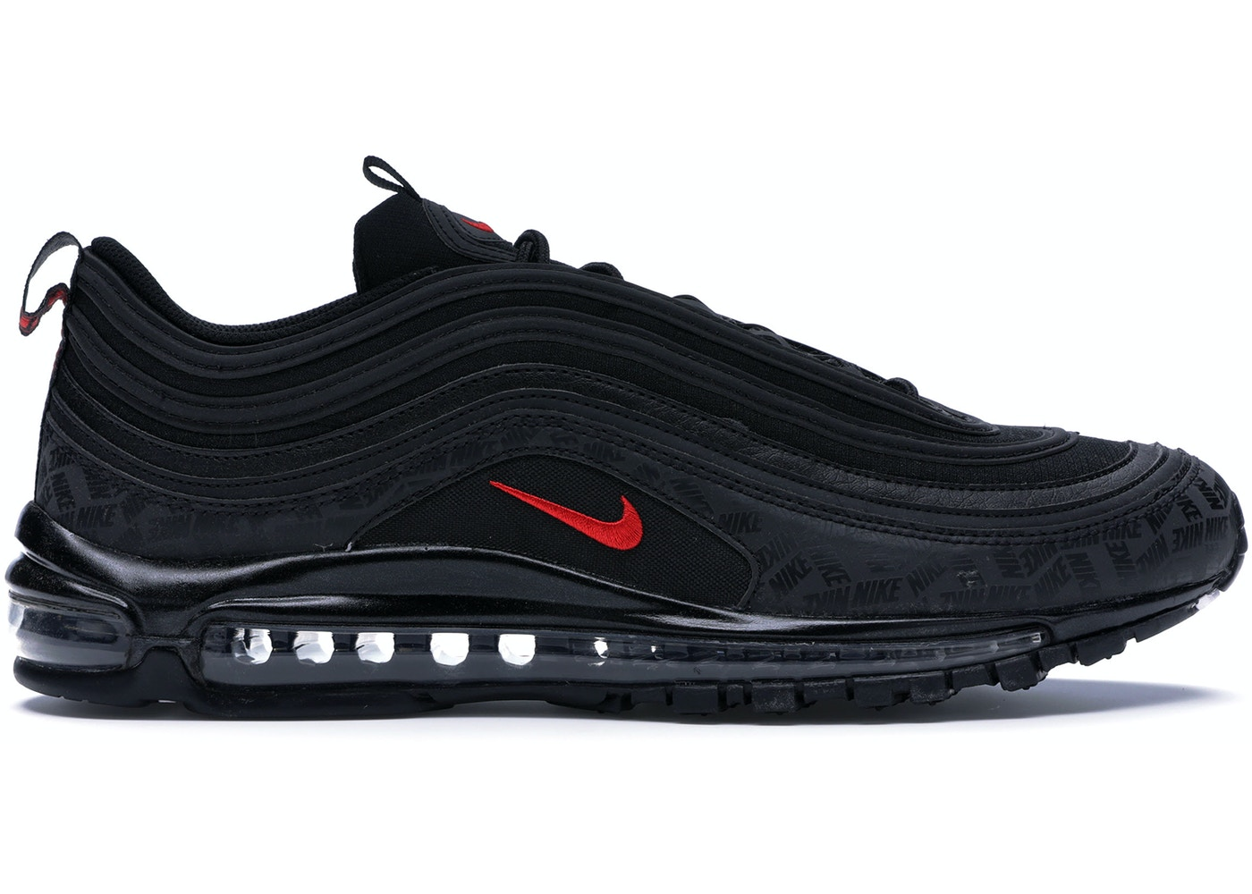35c0cfd1915bde Air Max 97 All-Over Print Black Red - AR4259-001