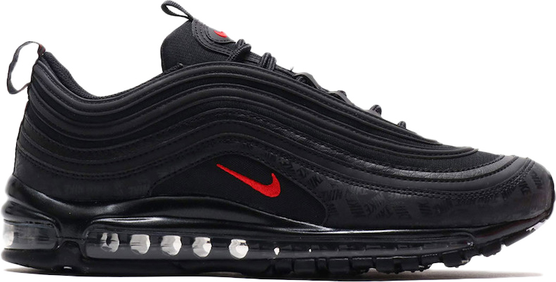 black and red nike air max