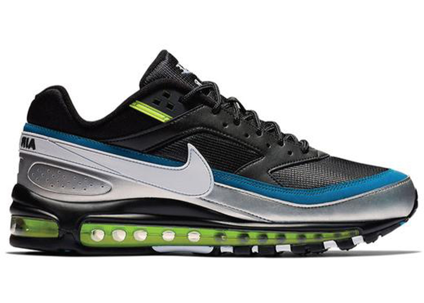 pretty nice a480e 98ed4 Air Max 97 BW Black White Metallic Silver