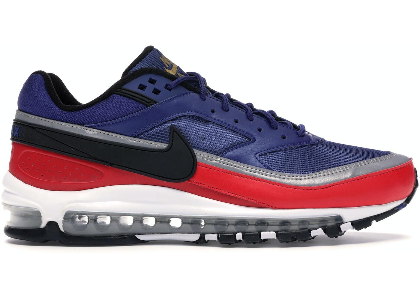 Nike Air Max 97 Bw Deep Royal Blue Black University Red Ao2406 400