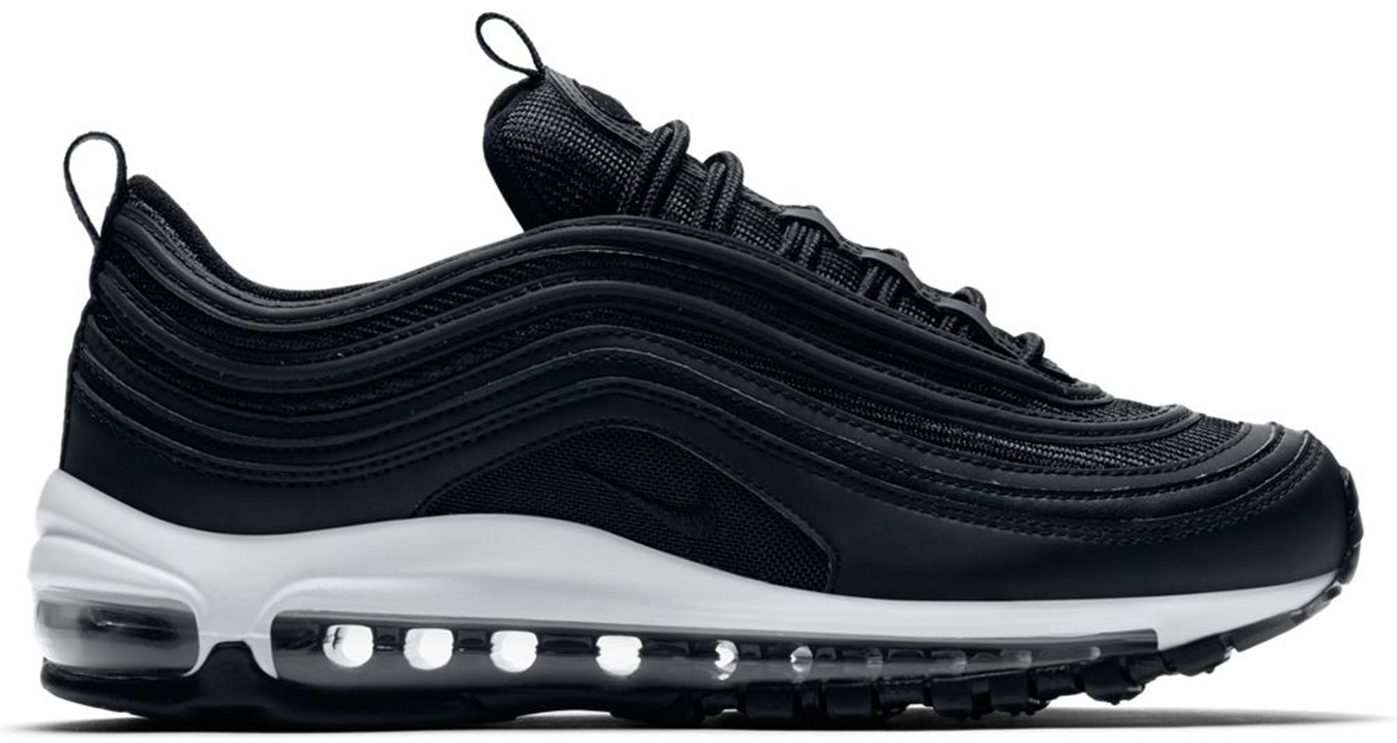 Nike Air Max 97 Black Black White (W