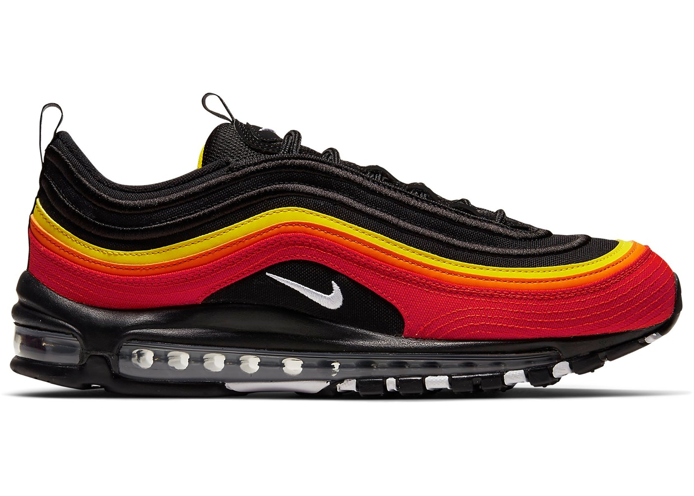 Nike Air Max 97 Black Chile Red Magma Orange