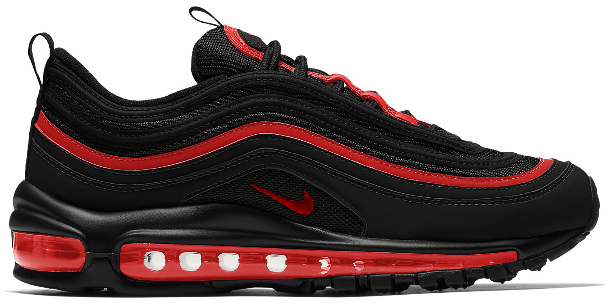 Nike Air Max 97 Black Chile Red (GS