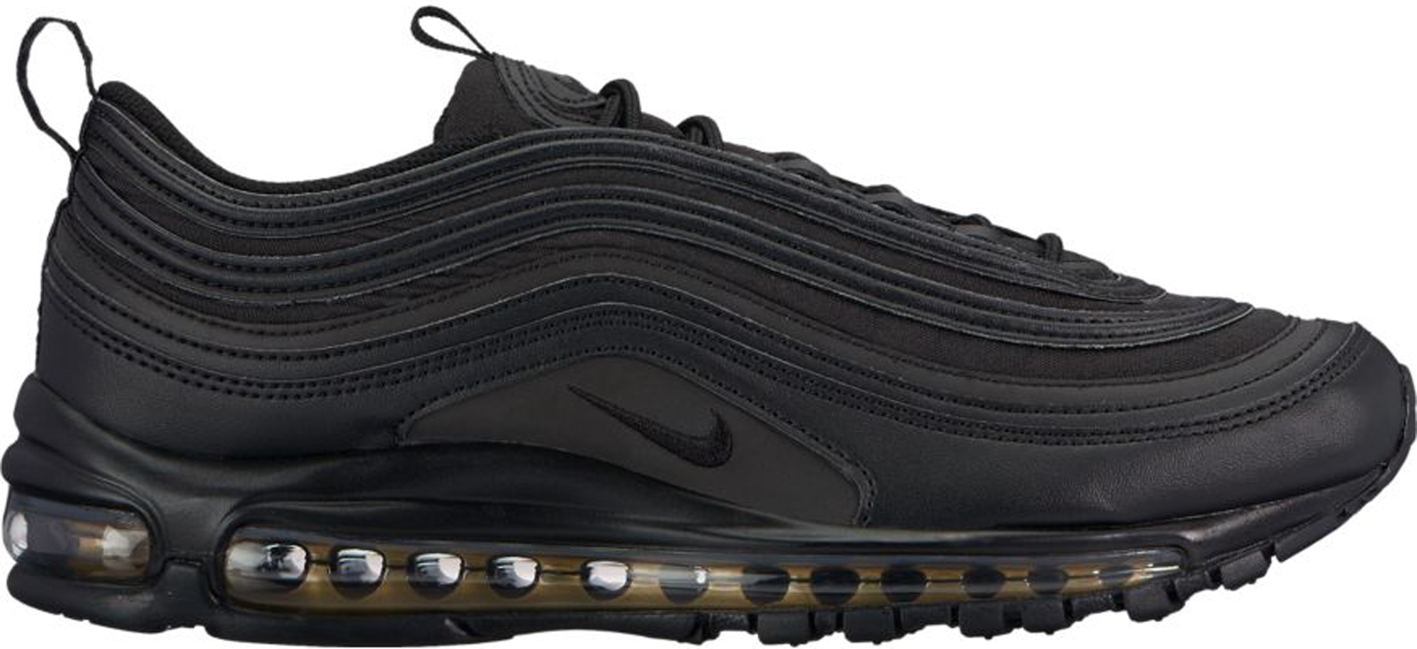 best sneakers b4fd6 56423 Air Max 97 Black Reflective Gold