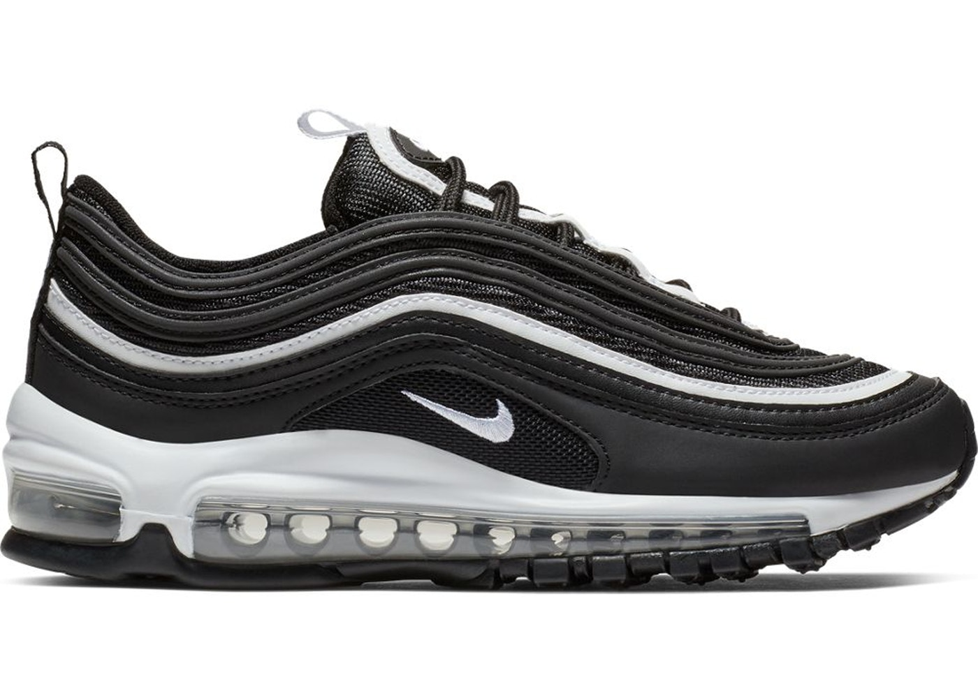 pretty nice d4948 a4cd3 Air Max 97 Black White (GS)