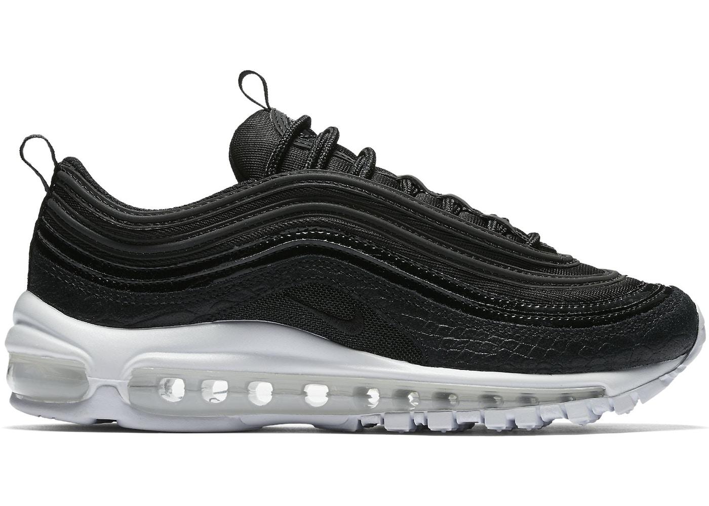 air max 97 white black